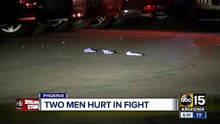 Two men hospitalized after fight in Phoenix - Video