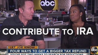 4 ways to get a bigger tax refund - Video