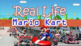 Real life Mario Kart in streets of Tokyo - Video