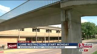 Papillion pedestrian bridge construction to start Monday - Video