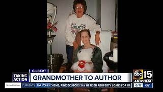 Valley grandmother keeps promise to write a book - Video
