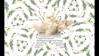 Good morning my angel, brought a rose bouquet, day of happiness! [Message] [Quotes and Poems]