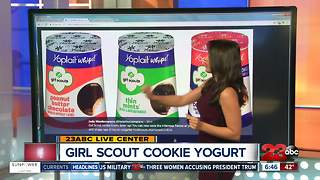 Girl Scout Cookie Flavored Yogurt - Video