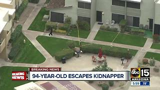 Man abducts a 94-year-old woman from her Scottsdale home - Video