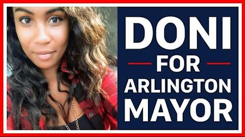 """DONI FOR ARLINGTON MAYOR"" by Toots Sweet"