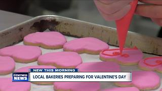 Local bakeries preparing for Valentine's Day