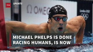 Michael Phelps Is Done Racing Humans, Wants To Race Against Feared Ocean Predator - Video