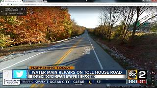 Roadwork begins Monday in Ellicott City - Video