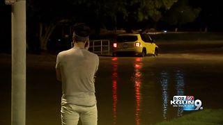 Driver rescued from flood water, ticketed in Scottsdale