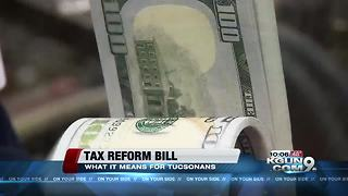 University of Arizona professor talks about the tax bill and gives financial advice - Video