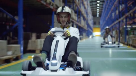 This Go-Kart Is so Fast, You Can Take It Anywhere