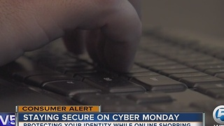 Staying secure on Cyber Monday