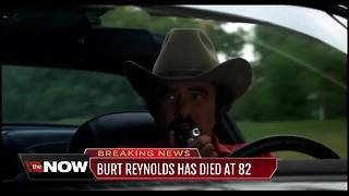 Burt Reynolds, actor and director, has died at age 82