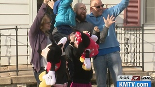 Disney dreams come true for girl with condition - Video