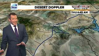 13 First Alert Las Vegas Weather for March 8 Morning - Video