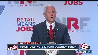 Former Ind. Gov. Mike Pence to keynote annual Ten Point Coalition luncheon - Video