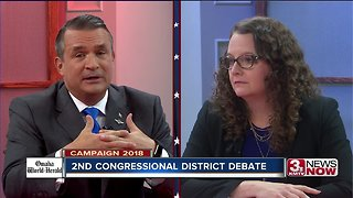 Midterms 2018: Bacon, Eastman debate health care - Video