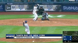 Didi Gregorius' two home runs, 8 RBI lead New York Yankees over Tampa Bay Rays in home opener
