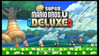 Nintendo Switch - New Super Mario U Deluxe Intro