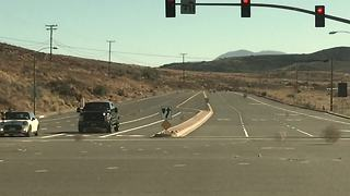 Runaway tumbleweeds create unique road hazard - Video