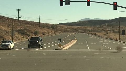 Runaway tumbleweeds create unique road hazard