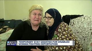 Temporary stay granted for disabled woman fighting deportation