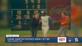 Hank Aaron passes away at 86