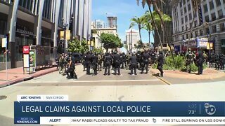Legal claims against local police