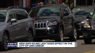 New anti-idling law takes effect in the city of Ann Arbor - Video