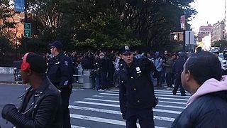Police Block Off West Side Highway Following Security Incident in Lower Manhattan - Video