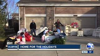 From living on a bus to their own home: How a Greeley family helped a homeless family of five - Video