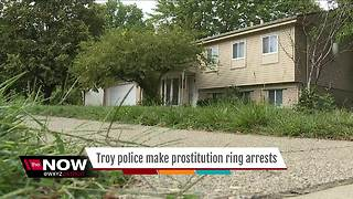 Troy police make prostitution ring arrests - Video