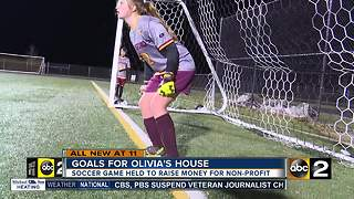A grieving family scores goals for Olivia's House - Video