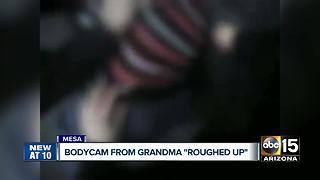 Mesa police release body camera video from incident that injured grandmother - Video