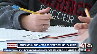 Students in the metro to start online learning