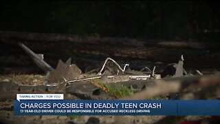 Police: SUV topped 100 mph before crash that killed 2 teens