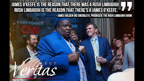 James Golden Honors Rush Limbaugh at Project Veritas CPAC 2021 After Party