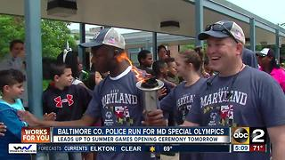 Law Enforcement Torch Run to benefit Special Olympics - Video
