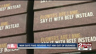 Local business owner says questionable online reviews put him out of business