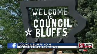 Council Bluffs earns 'vibrant' arts recognition