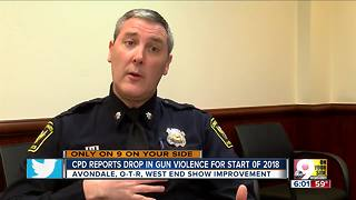 CPD: Shootings down nearly 50 percent this year