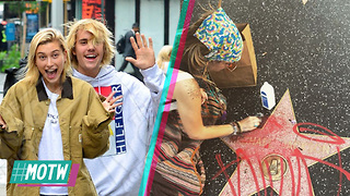 Justin Bieber & Hailey Baldwin ENGAGED!? Paris Jackson Cleans Michael Jackson Hollywood Star! | MOTW - Video