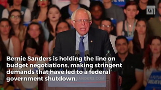 Bernie Sanders Is Hoping America Didn't Notice His Comments on 2013 Shutdown - Video