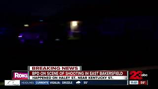 Bakersfield Police are investigating a shooting in east Bakersfield - Video
