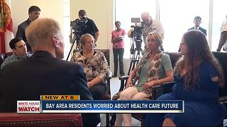 Tampa Bay residents face uncertain futures in AHCA repealed - Video