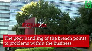 Equifax data breach: CEO resigns - Video