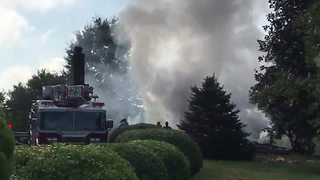 Taneytown home completely gone after reported explosion - Video