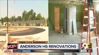 Anderson High School taking late start as major renovation continues - Video