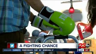 Parkinson's patients fighting back through boxing