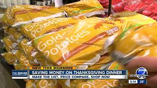 6 ways to save on Thanksgiving dinner - Video